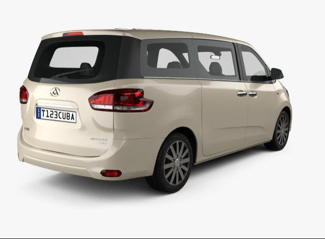 Car rental Maxus G10   Cuba