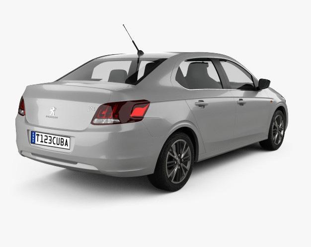 Car rental Peugeot 206 +T/M Cuba