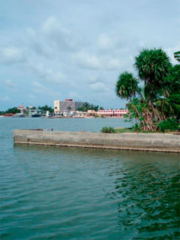 Cove: Ensenada de las Calabazas, Cienfuegos. Cuba