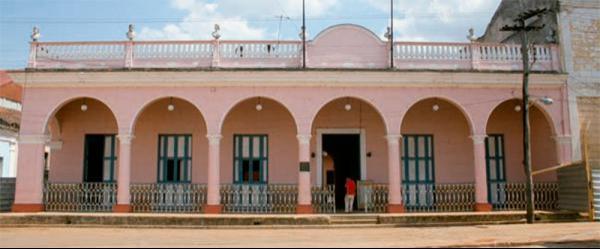 Building : Casa de la Cultura de Remdios, Villa Clara. Cuba