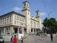 Architecture: Central Railroad Station Building, Havana City