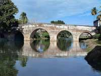 Landscapes: Bridge over the Yayabo River