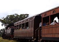 Interesting Places: Tourist Steam Train from Trinidad to the Sugar Mills' Valley, Trinidad