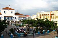 Parks: Cespedes Park, Santiago de Cuba