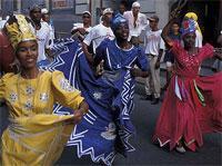 Cultural themes: Sociedad Tumba Francesa La Caridad de Oriente, Santiago de Cuba