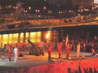Interesting Places: Nine o'clock Cannon Blast Ceremony