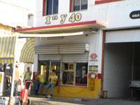 Gas Station: 1ra. y 40
