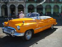 Classic Old Cabriolet Cars Tours Havana: Buick 1950 Cabriolet