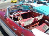 Classic Old Cabriolet Cars Tours Havana: Chevrolet Impala Cabriolet