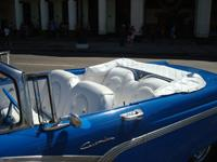 Classic Old Cabriolet Cars Tours Havana: Ford Customline 1956 Cabriolet