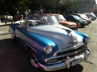 Old American Car Sightseeing and City Tour: Chevrolet  54 Cabriolet, Havana City