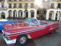 Classic Old Cabriolet Cars Tours Havana: Oldsmovile 1958  Cabriolet
