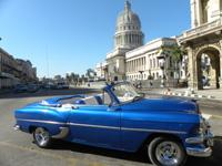 Classic Old Cabriolet Cars Tours Havana: Chevrolet  56 Cabriolet